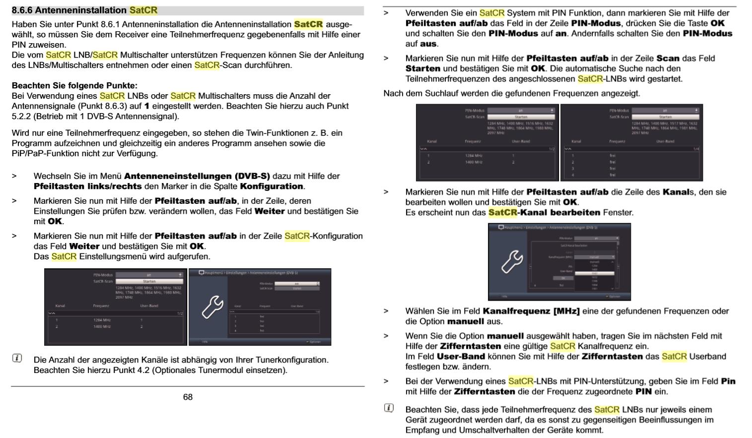 Technisat-Isio-STC-Unicable-SCR-Einstellungen_Anleitung_Seite68-69.PNG