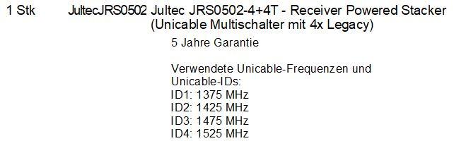 Auszug_Auftrag_Lieferschein_Rechnung_JultecJRS0502-4+4T_Erklaerung_Unicable-Frequenzen.JPG