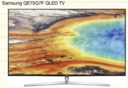 Samsung QE75Q7F Bilddarstellung