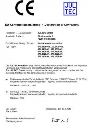 Jultec-Startverstaerker_JAL_Konformitaetserklaerung.JPG