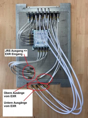 JultecJRS0504-4M_KathreinEXR1512-kaskadierter-Aufbau_Potentialausgleich_Lochblechplatte_Vorbereitung.jpg