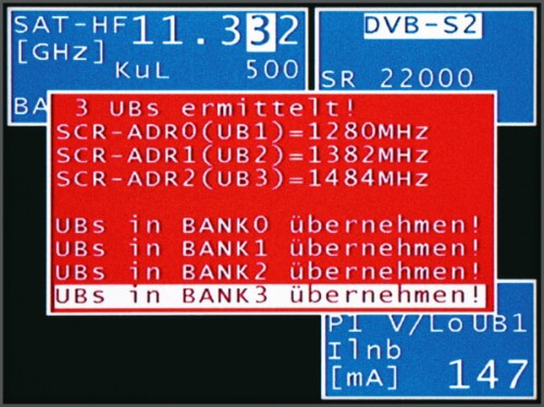 UB-Ermittlung über KWS Varos 109