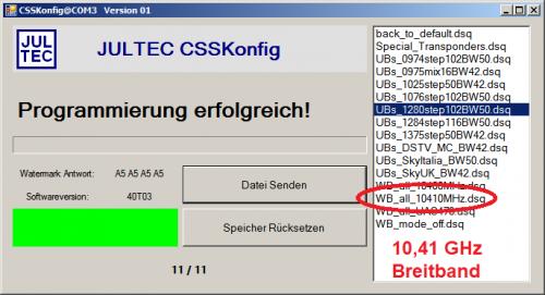 Jultec_CSSkonfig2_Programmierung_Breitband-LNB-Betrieb_10-41GHz