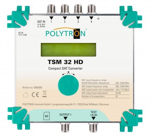 Polytron TSM 32 HD_Einkabellösung_DVB-S_S2_Compact-Sat-Converter