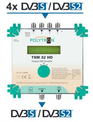 Polytron TSM 32 HD Teaser