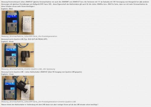 Jultec-Spannungswandler-Prinzip-Messungen