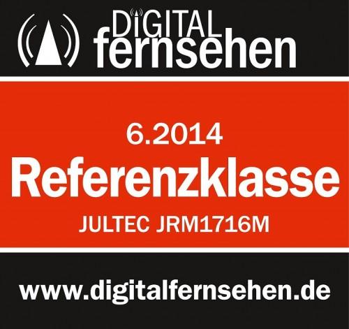 Jultec JRM1716M Test Digitalfernsen Ausgabe 06-2014 = Referenzklasse (M = auch Kaskade)