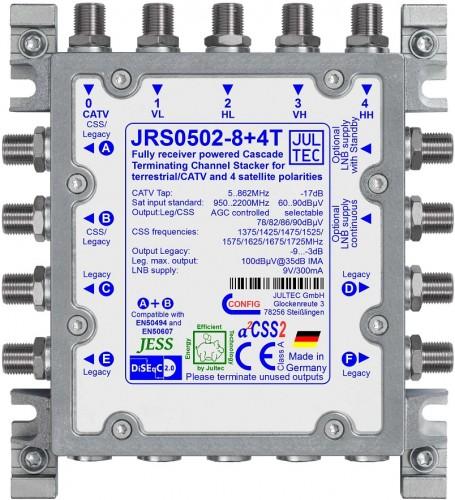 Jultec JRS0502-8+4T