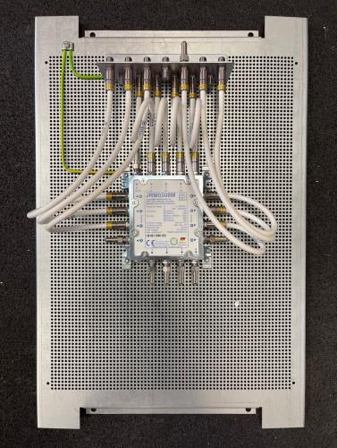 Jultec JRM0508M Lochblechplatte Potentialausgleich-Aufbau / Vormontage