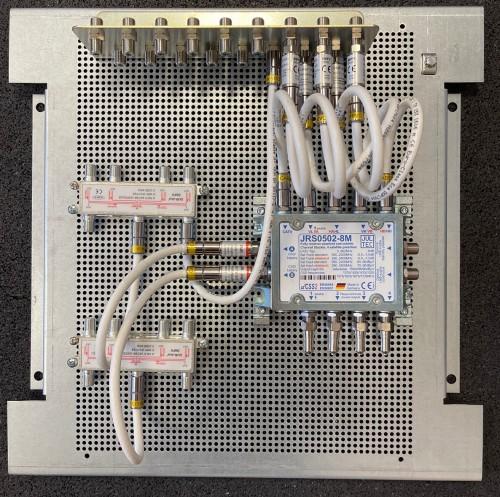 Jultec JRS0502-8M Lochblechplatte_Verteiler_Potentialausgleich_Voraufbau-Demo1
