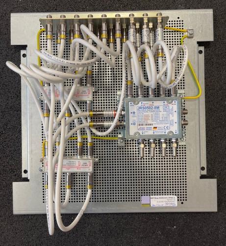 Jultec JRS0502-8M Lochblechplatte_Verteiler_Potentialausgleich_Voraufbau