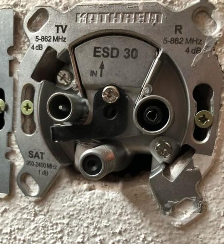 Kathrein ESD30 Sat-Antennendose