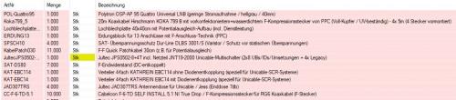 Bestellung User BodoSkr