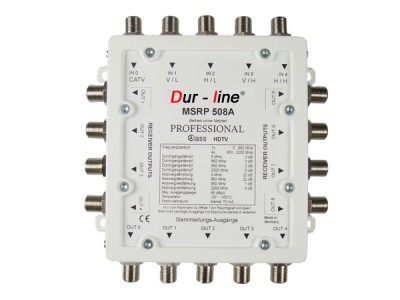 Multischalter-Kaskade 5/8 DUR-LINE MSRP 508A (receiver powered)