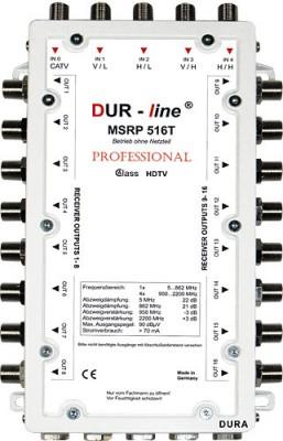 Multischalter 5/16 DUR-LINE MSRP 516T (receiver powered)