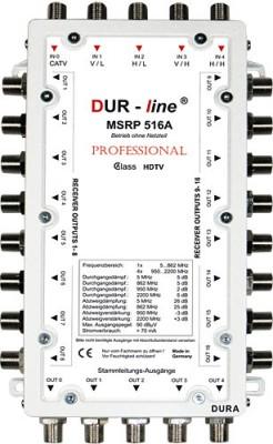 Multischalter-Kaskade 5/16 DUR-LINE MSRP 516A (receiver powered)