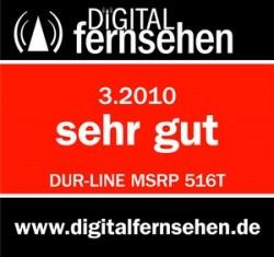 Test Dur-Line MSRP 516T (baugleich Jultec JRM0516T)