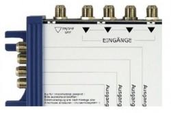 co@xLAN 55 Einspeiseweiche 4fach<br />Einspeiseweiche mit Stromversorgung:  SAT / Terr. / LAN
