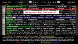 CoolTV-Guide_Screenshop_Zeitspanne