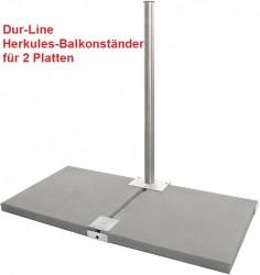 Herkules Balkonständer / Plattenständer für 2 Gehwegplatten