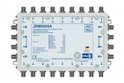 Multischalter 9/8 Jultec JRM0908A (voll receivergespeist) für 2 Satelliten