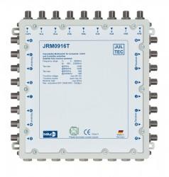 Multischalter 9/12 Jultec JRM0916T (voll receivergespeist) für 2 Satelliten