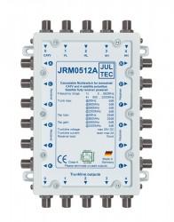 Multischalter 5/12 Jultec JRM0512A (voll receivergespeist) für 1 Satelliten (1. Produktgeneration)