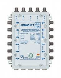 Multischalter 5/12 Jultec JRM0512T (voll receivergespeist) für 1 Satelliten (1. Produktgeneration)