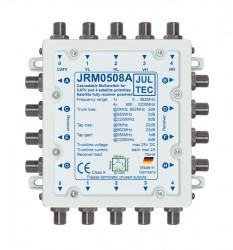 Multischalter 5/8 Jultec JRM0508A (voll receivergespeist) für 1 Satelliten (1. Produktgeneration)