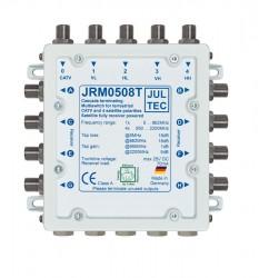 Multischalter 5/8 Jultec JRM0508T (voll receivergespeist) für 1 Satelliten (1. Produktgeneration)