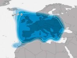 Europa-Beams 19,2 Grad Ost<br />Der Europa-Beam von Astra 1N