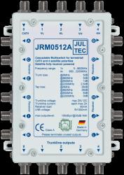Multischalter 5/12 Jultec JRM0512A (voll receivergespeist) für 1 Satelliten (2. Produktgeneration)