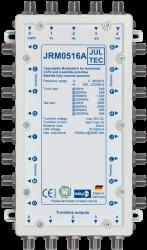 Multischalter 5/16 Jultec JRM0516A (voll receivergespeist) für 1 Satelliten (2. Produktgeneration)