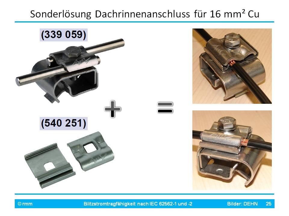 Dehn_16mm2_anschlusstaugliche_Dachrinnenhalter_Blitzstromtragfähigkeit.JPG