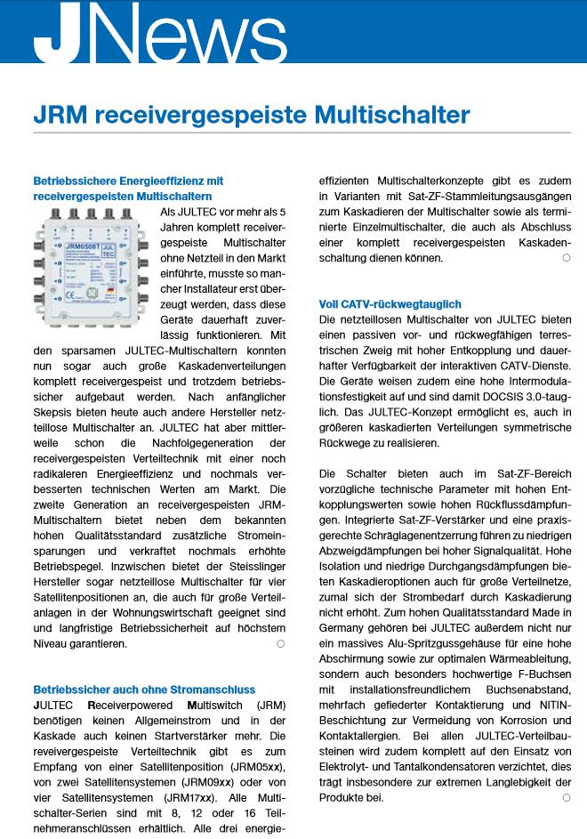 JULTEC_JRM-Multischalter_News_01 Ausgabe 2015_Seite1.PNG