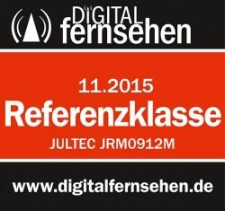 Jultec JRM0912M Test Digitalfernsen Ausgabe  11-2015 = Referenzklasse (M = auch Kaskade)