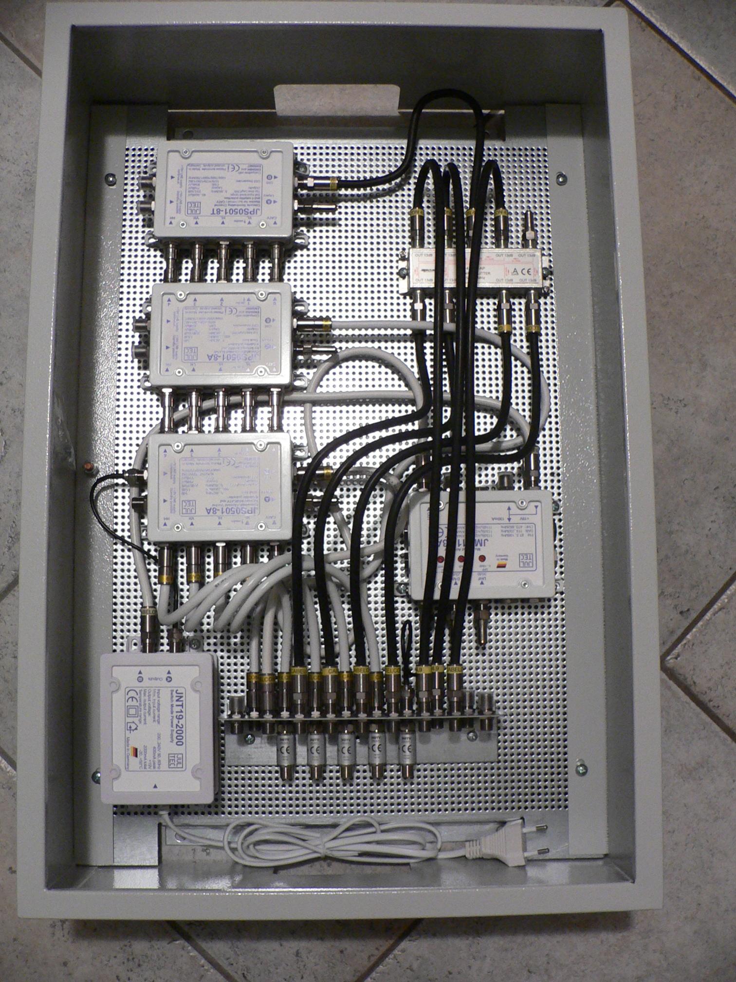 Unicable System JPS0501-8 Antennendosen-Auswahl JAP/JAD ...