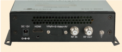 Polytron HDM-1 SL HDMI-Modulator in DVB-S/S2 Rückseite