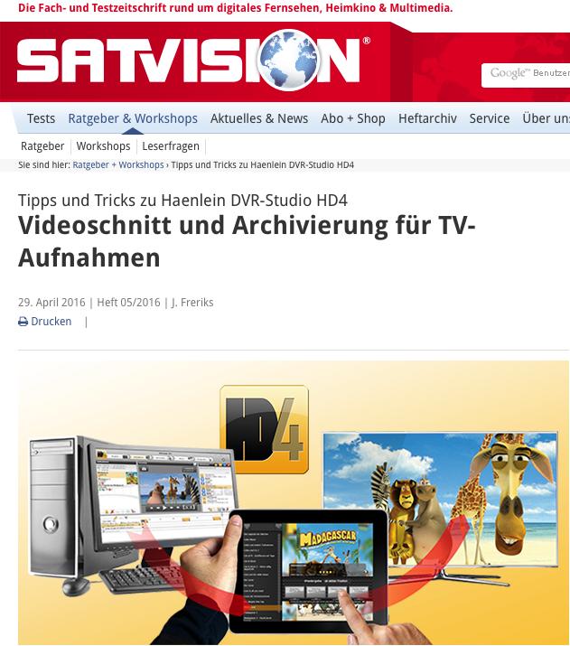 Haenlein-Software_Studio_HD4_Satvision_2016-05-Videoschnittbereicht.png
