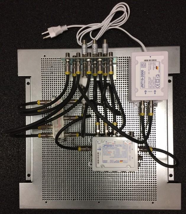 JultecJPS0501-16TN_Breitband-LNB-Modus_a2CSS-Technologie_Lochblechplatte_Potentialausgleich_Verteiler_UKW-Verstaerker_JultecJFA110.JPG