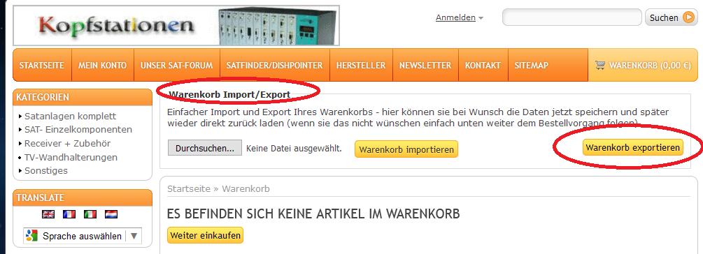 Warenkorb_Export_Import_Satshop-Heilbronn_Shopseite.PNG