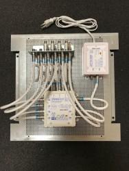 Jultec_JPS0502-8+4T_Lochblechplatte_Potentialausgleich_JNT19-2000-Netzteil_Ueberspannungsschutz (2).JPG